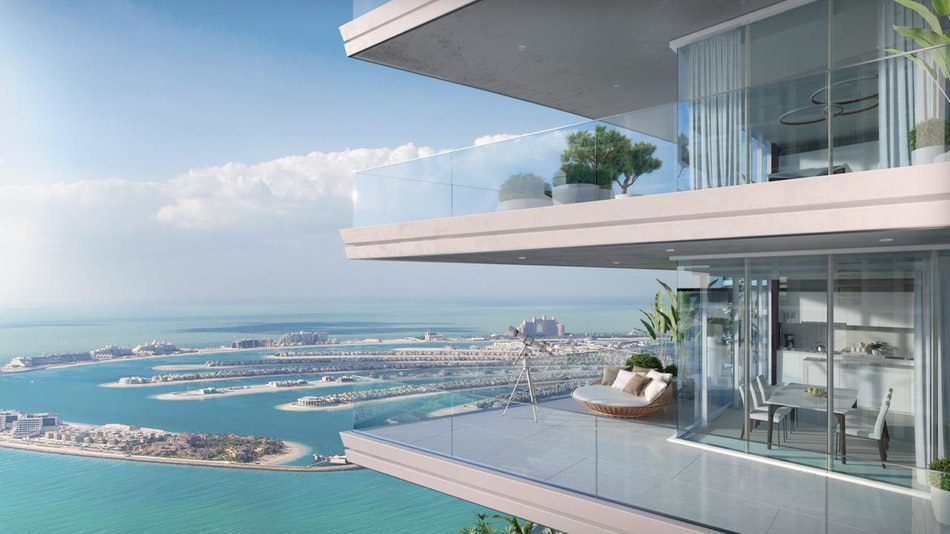 Resell Beachfront Villa, Marina Vista, Emaar, Dubai