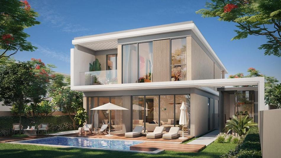 Premium 5 BR Garden Suite Corner with Large Plot