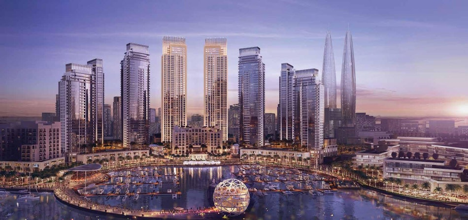 Ready to move with 20% DP/Emaar Luxury Waterfront