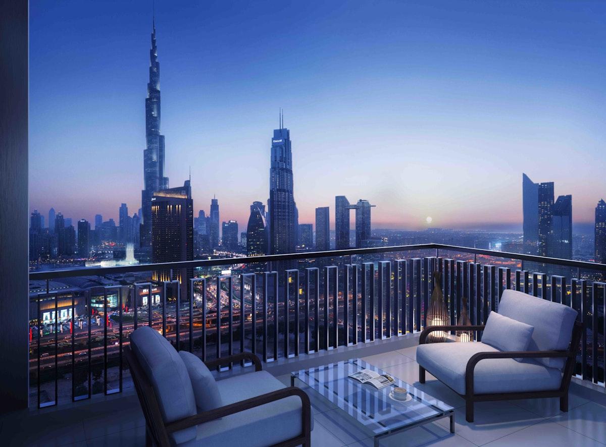Full Burj views I Corner 2BED I 04 series