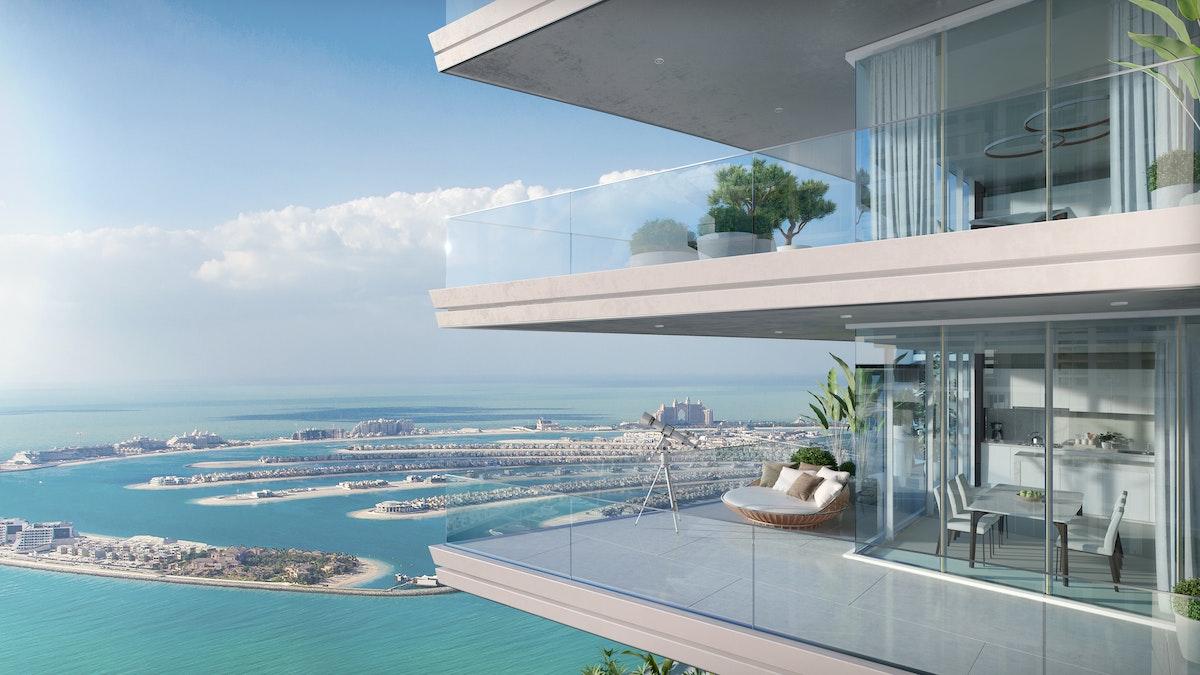 High Floor With Dreamy Views Of The Arabian Sea & Palm