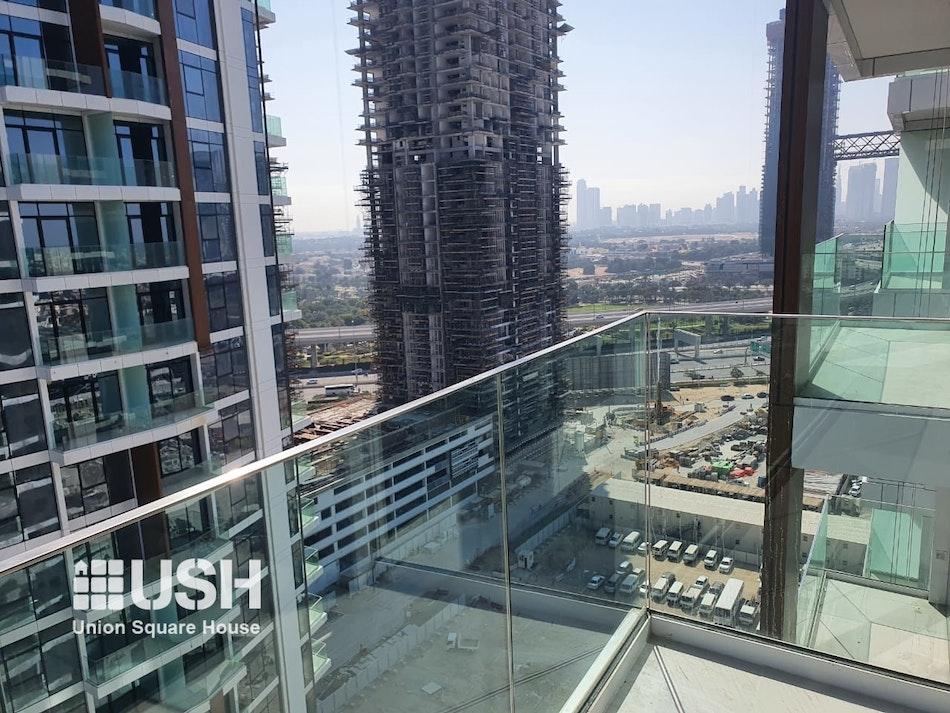 Spacious 2 BR - Type 2A - Dubai Frame View