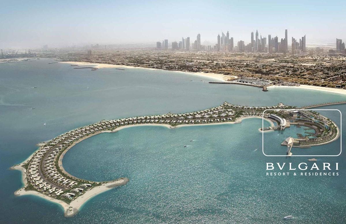 A piece Of Italy in Dubai - Bvlgari Island
